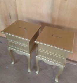 Nakas Angpao Warna Gold IJ-02 Mebel Dekorasi Jepara