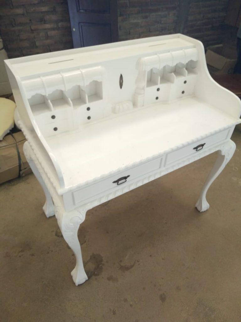 Meja Angpao Mewah Putih IJ-01 Furniture Dekorasi