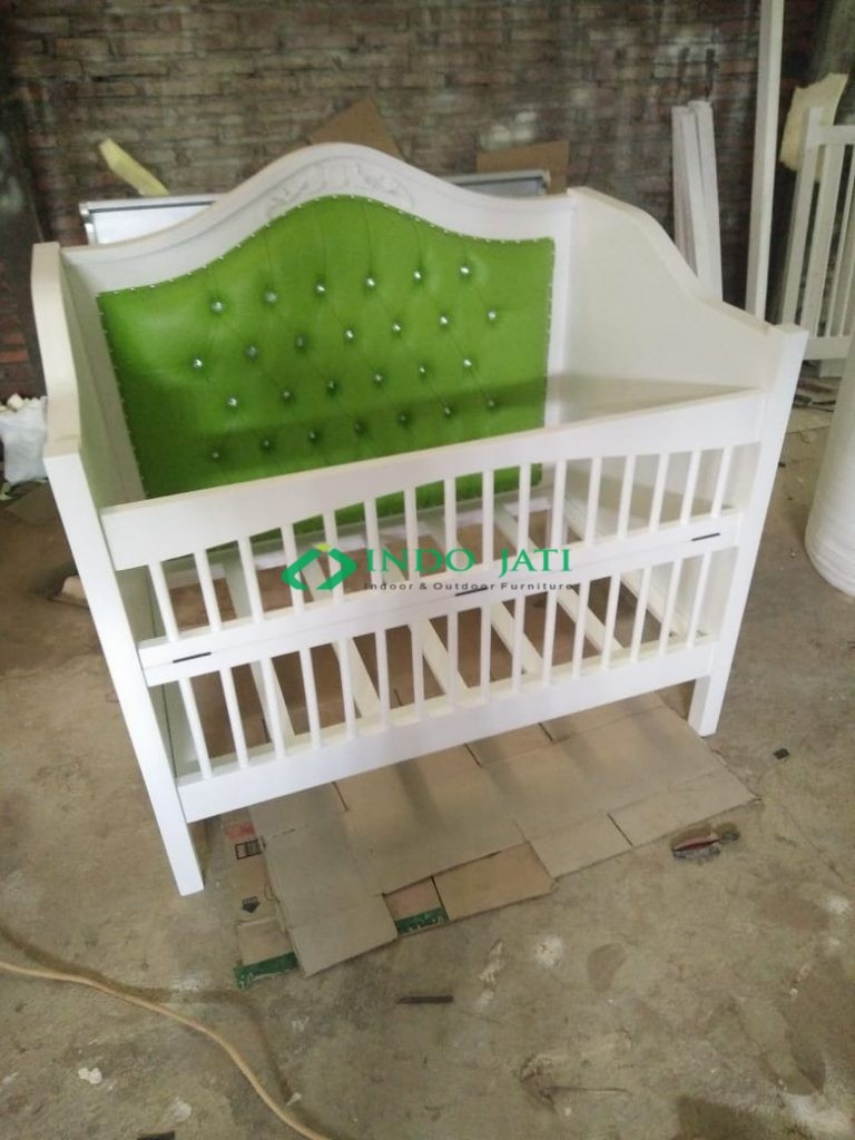 Box Bayi Duco Putih IJ-09 Furniture Baby Box Mewah