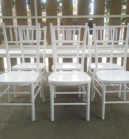 Kursi Tiffany Putih IJ-18 Kursi Tiffany Murah