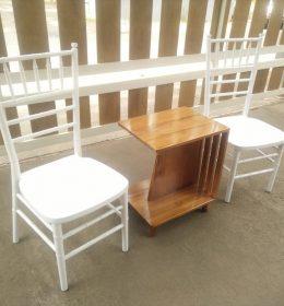 Kursi Teras Tiffany Putih Duco IJ-17 Kursi Tiffany Murah