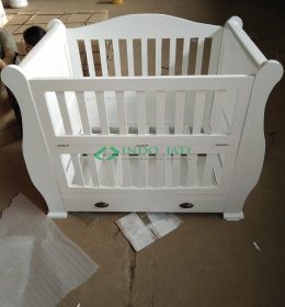 Tempat Tidur Bayi IJ-12 Box Bayi Kecil Duco Putih