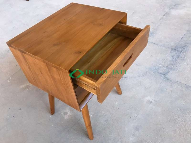 Meja Nakas Minimalis Retro, Jual Nakas Murah, Nakas 1 Laci, Teak Bedside, Nakas Minimalis 2 Laci, Nakas Mewah 3 Laci, Podusen Nakas Berkualitas, Nakas Model Retro, Desain Nakas Vintage, Side Table, Nakas Duco Putih, Nakas Finishing Natural, Meja Nakas Studio