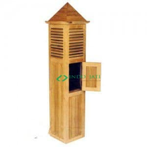 Teak Lamp, Garden Furniture, Furniture Teak Garden, Teak Garden Lamp, Garden Light, Letter Box Light