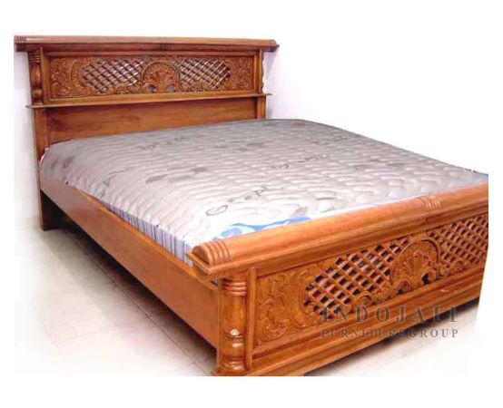 Teak Wood Bed Indonesia