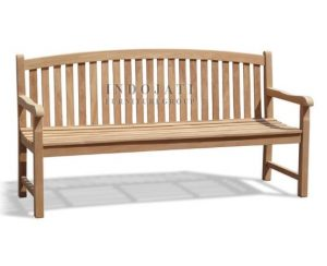 Curve Back Java Bench 180 (180x55x91cm)
