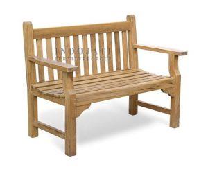 Teak Maldives Bench (124x55x91cm)