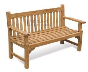 Teak Maldives Bench 150 (154x55x91cm)