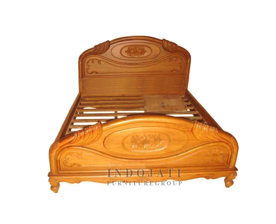Teak Bed Frame Antique