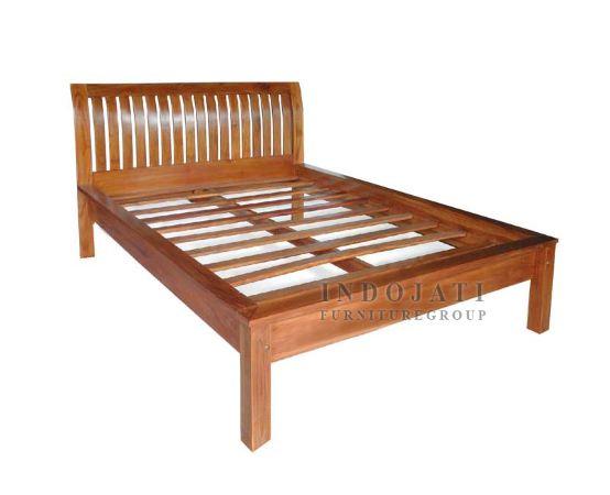 Teak Wood Bed Frame Supplier
