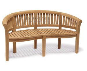 Curved Peanut Bench (150x54x85 cm)