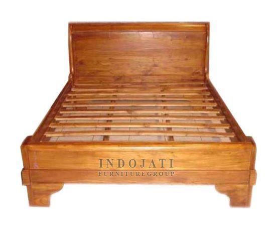 Teak Wood Bed Frame