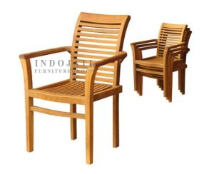Teak-outdoor-stacking-chairs-Factory-Jepara