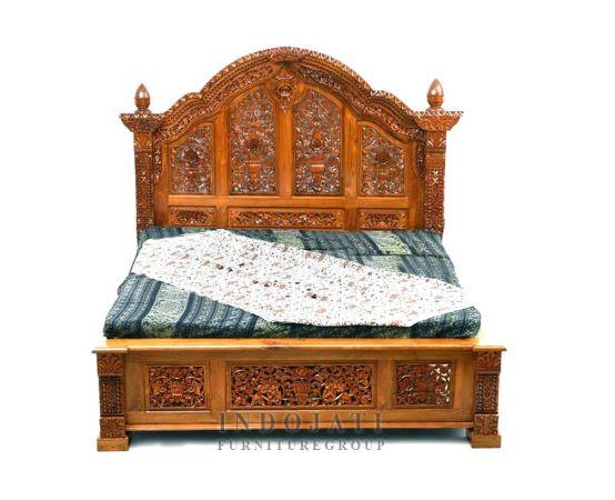 Teak Carving Bedroom Jepara