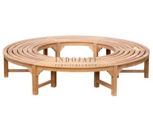 Circular Tree Bench Backless (190x190x45 cm)