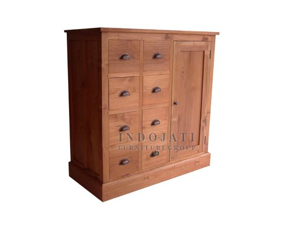 Teak Chest of Drawers Sideboard