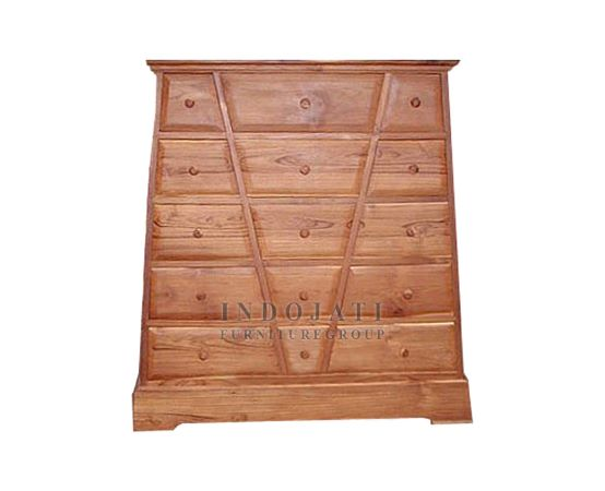 Teak Wood Chest of Drawers Sideboard