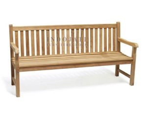 Teak Outdoor Java Bench 180 (180x55x91cm)