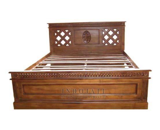 Teak Wood Bed Asia