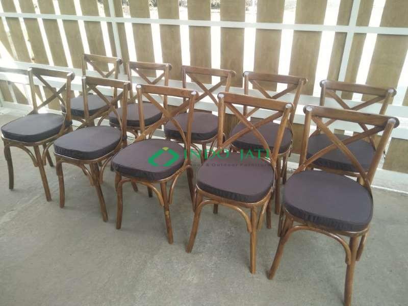 Kursi Makan Silang Furniture Jepara