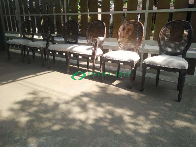 Kursi Pelaminan Rotan Furniture Jepara