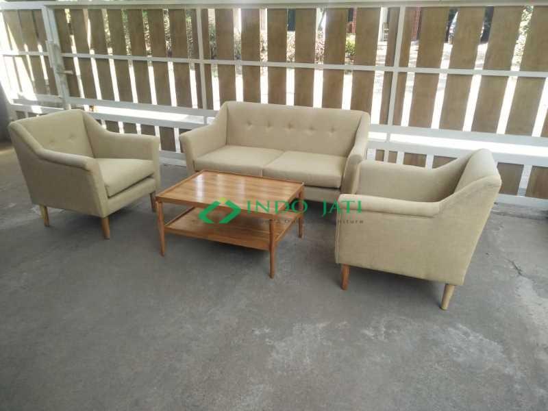 Set Kursi Tamu Sofa Vintage