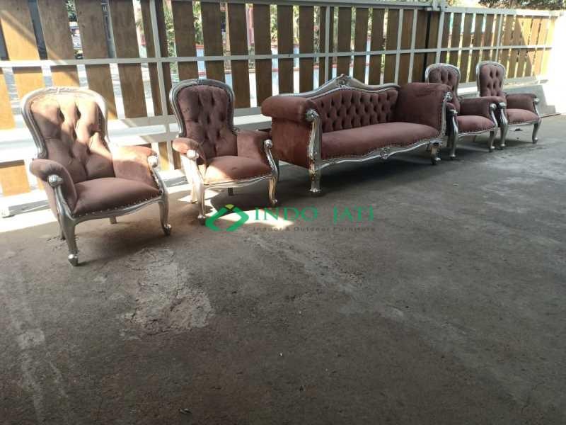 Set Sofa Pelaminan Mewah Terbaru