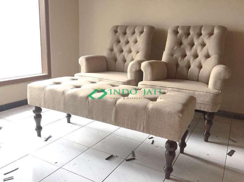 2 Kursi 1 Bangku Sofa Terbaru