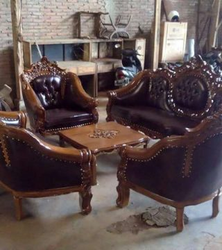 Kursi Tamu Ganesha Jati Jepara Toko Furniture Jepara Online
