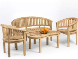Banana Chairs Teak Garden Furniture