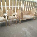 Kursi Pelaminan Sofa Rotan