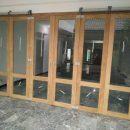 Kusen Pintu Rumah kayu Jati Sliding