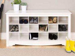Lemari Sepatu Duco Putih