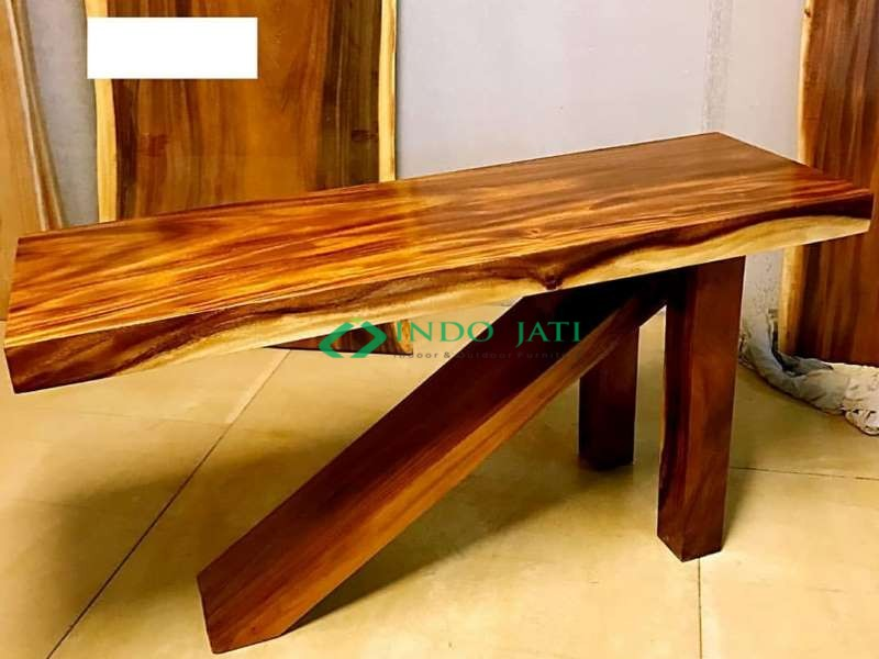 Meja Console Solid Trembesi