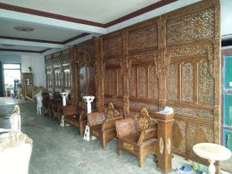 Set Dekorasi Pelaminan Jawa