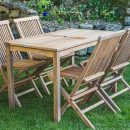Set Kursi Lipat Patio Teak Furniture