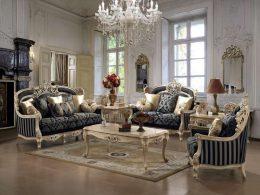 Set Sofa Classic Mewah