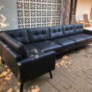 Sofa Sudut Minimalis Retro