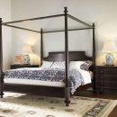 Tempat Tidur Kanopi Minimalis