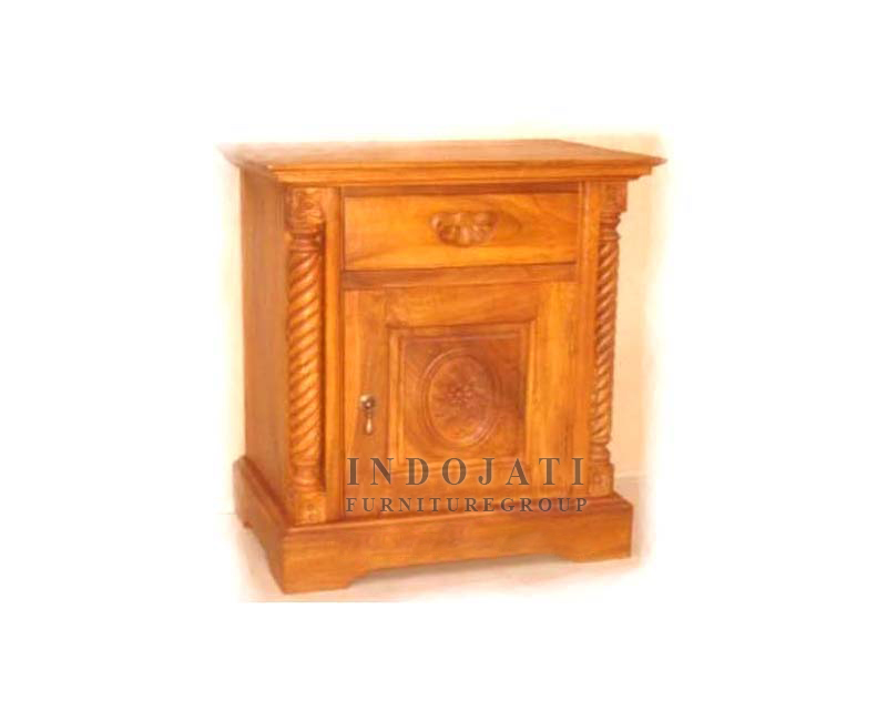 Solid Wood Nightstand Bedsides