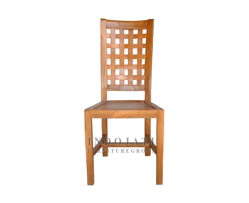 Teak Dining Chairs Anyaman