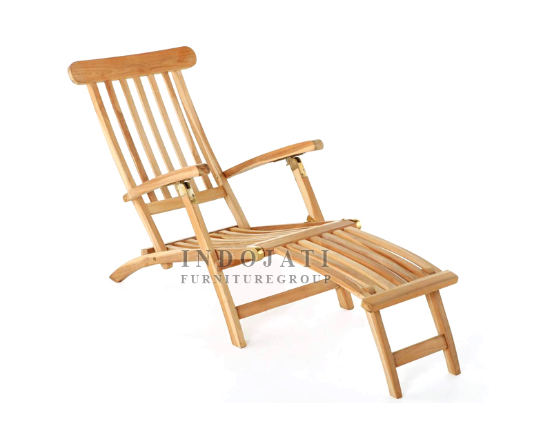 Teak Outdoor Furniture Lounger Steamer