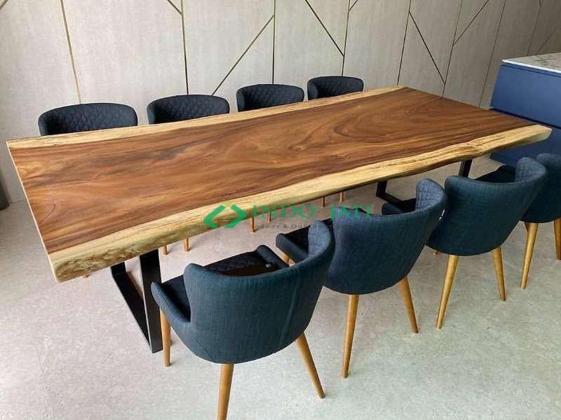 Meja Solid Trembesi Kursi Cafe Terbaru
