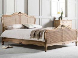 Tempat Tidur Klasik Rattan