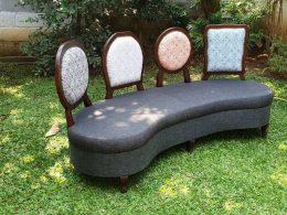 Sofa Jati Mewah Unik