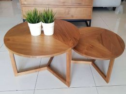 Teak Coffe Table Minimalis