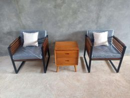 Kursi Sofa Teras Industrial