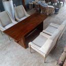 Meja Solid Trembesi Kursi Sofa Mewah