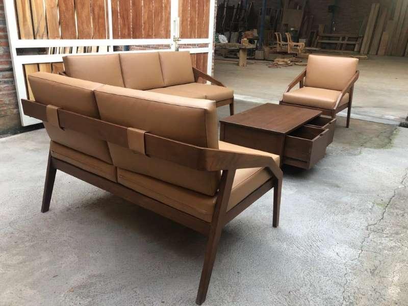 Kursi Tamu Sofa Minimalis Mewah Set