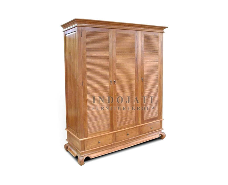 Solid Teak Wood Wardrobe Cheap Price